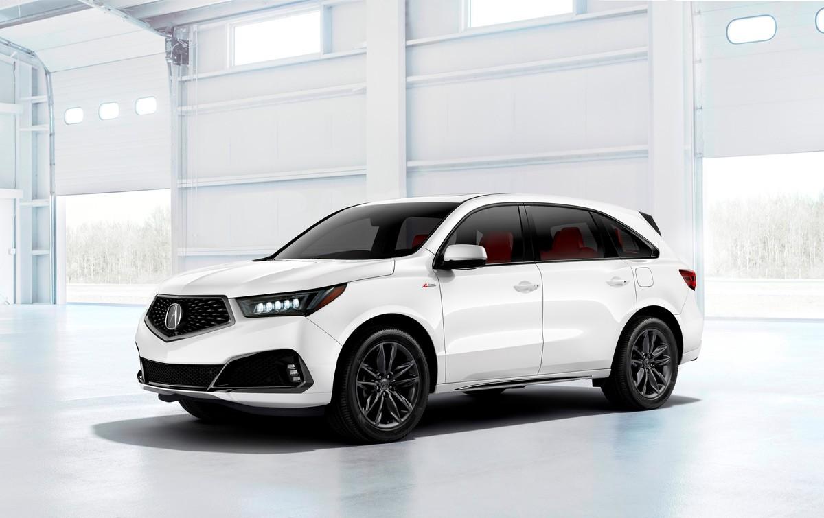 ACURA MDX A-Spec specs & photos - 2018, 2019 - autoevolution