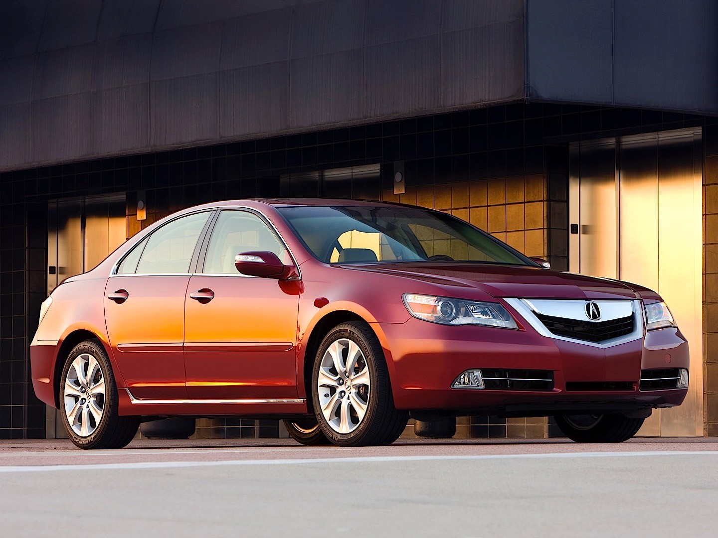 ACURA RL specs & photos - 2008, 2009, 2010, 2011, 2012 ...