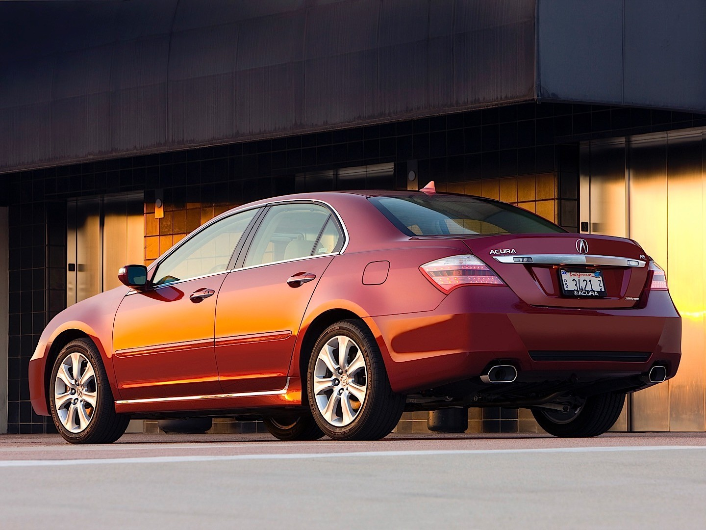 Acura Rl Specs 2008 2009 2010 2011 2012 Autoevolution