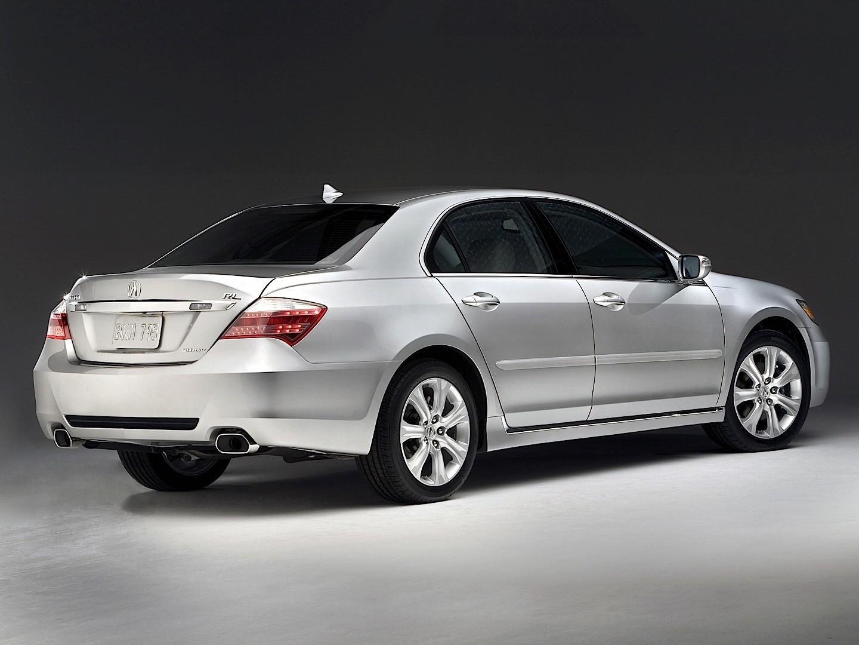 Awd Sports Cars >> ACURA RL specs - 2008, 2009, 2010, 2011, 2012 - autoevolution