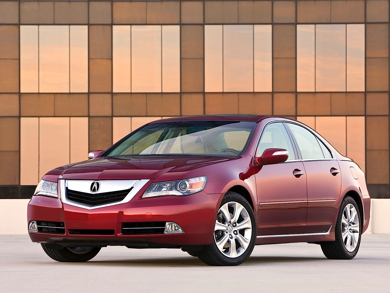 Acura Rl Specs - 2008  2009  2010  2011  2012