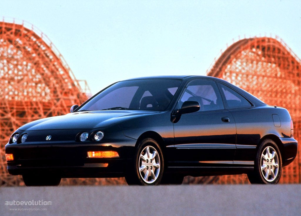 ACURA Integra Coupe Specs - Acura integra tire size