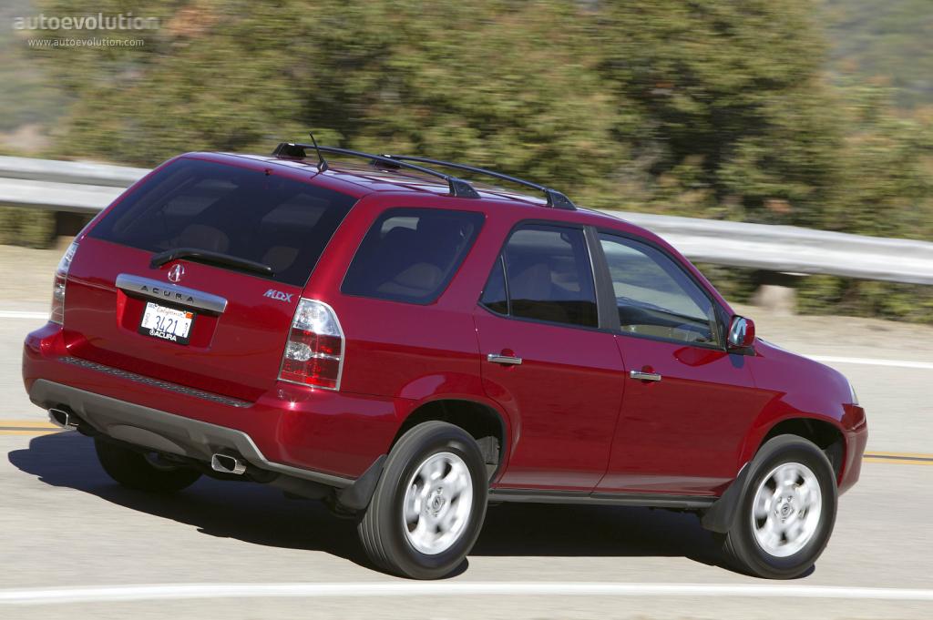 ACURA MDX specs - 2004, 2005, 2006 - autoevolution