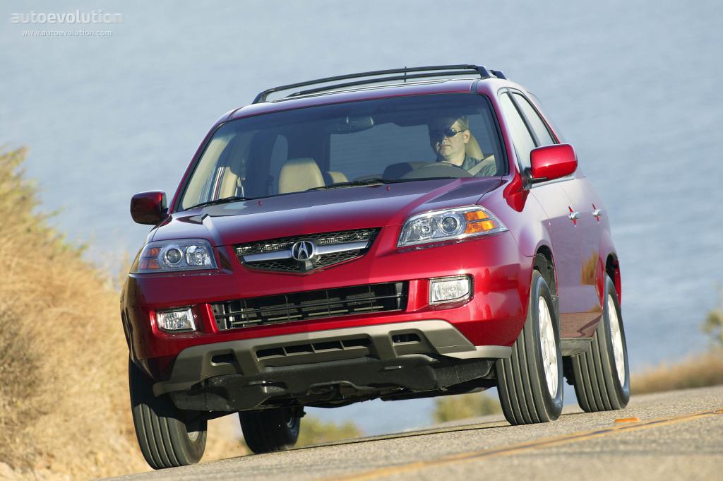 ACURA MDX specs  2004 2005 2006  autoevolution