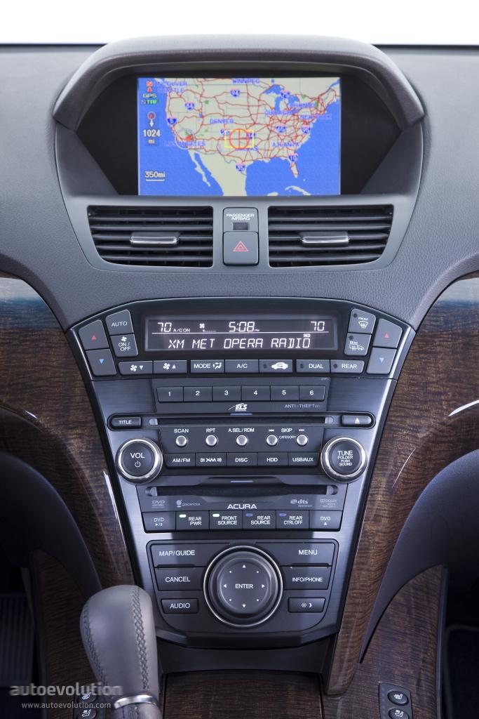 Acura Mdx Specs 2010 2011 2012 2013 Autoevolution