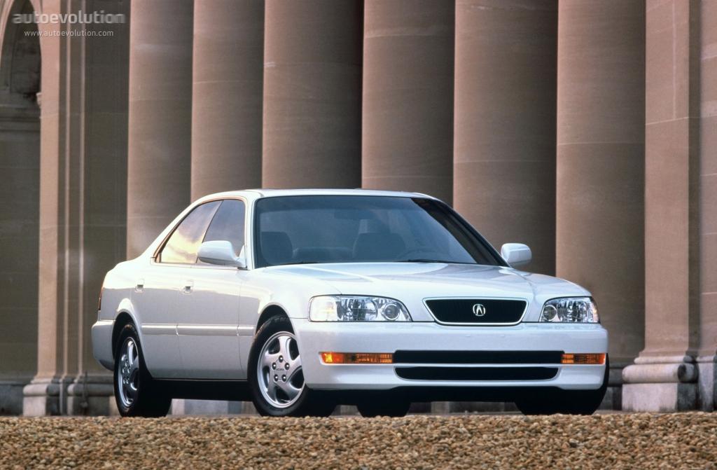 Acura Tl Specs - 1995  1996  1997  1998