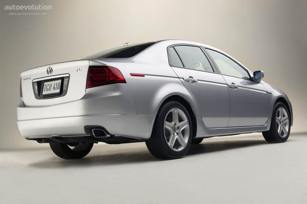 Acura Tl 2003 2004 2005 2006 2007 2008 Autoevolution