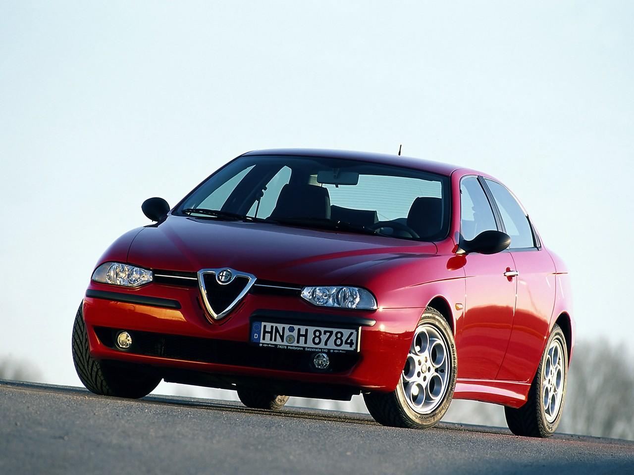 Alfa Romeo 156 1997 1998 1999 2000 2001 2002 2003