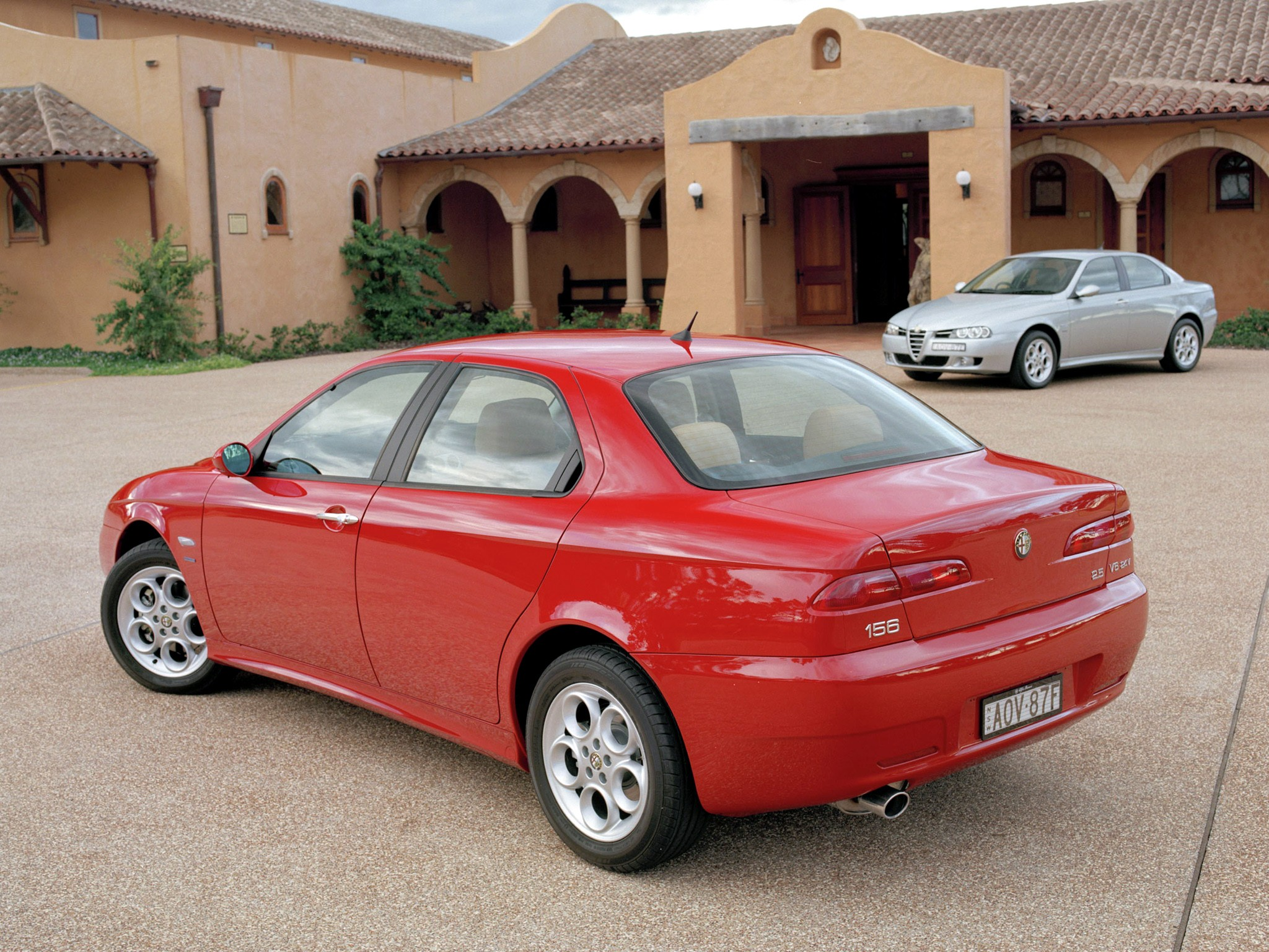 alfa romeo 156 specs photos 2003 2004 2005 autoevolution. Black Bedroom Furniture Sets. Home Design Ideas