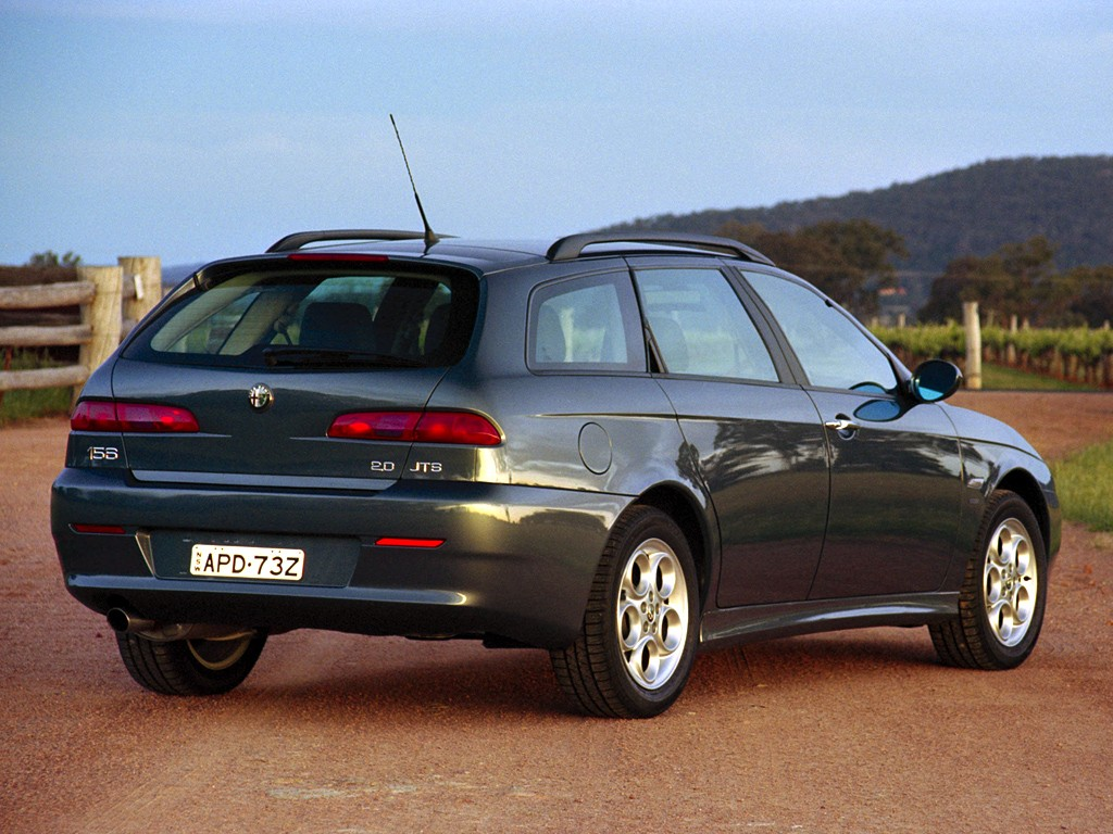 ALFA ROMEO 156 Sportwagon specs & photos - 2003, 2004 ...