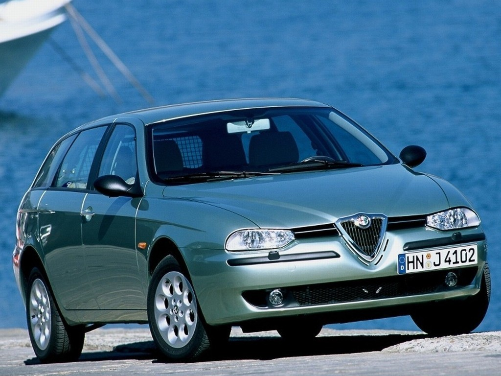 alfa romeo 156 sportwagon 2000 2001 2002 2003 autoevolution. Black Bedroom Furniture Sets. Home Design Ideas