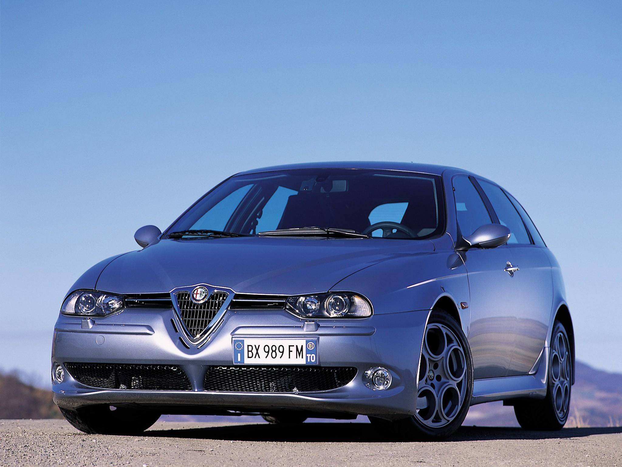 ALFA ROMEO 156 Sportwagon GTA specs & photos 2002 2003 2004