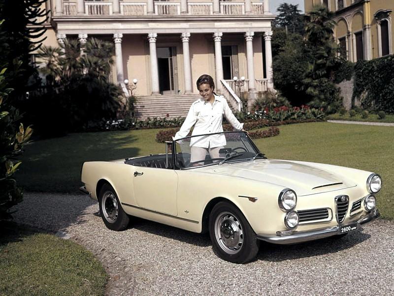 Alfa Romeo 2600 Spider Specs Photos 1962 1963 1964 1965