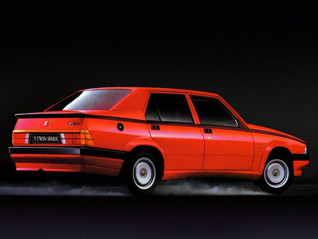 alfa romeo 75 (1985 - 1992)