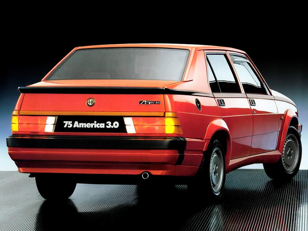 alfa romeo 75 specs photos 1985 1986 1987 1988 1989 1990 1991 1992 autoevolution. Black Bedroom Furniture Sets. Home Design Ideas