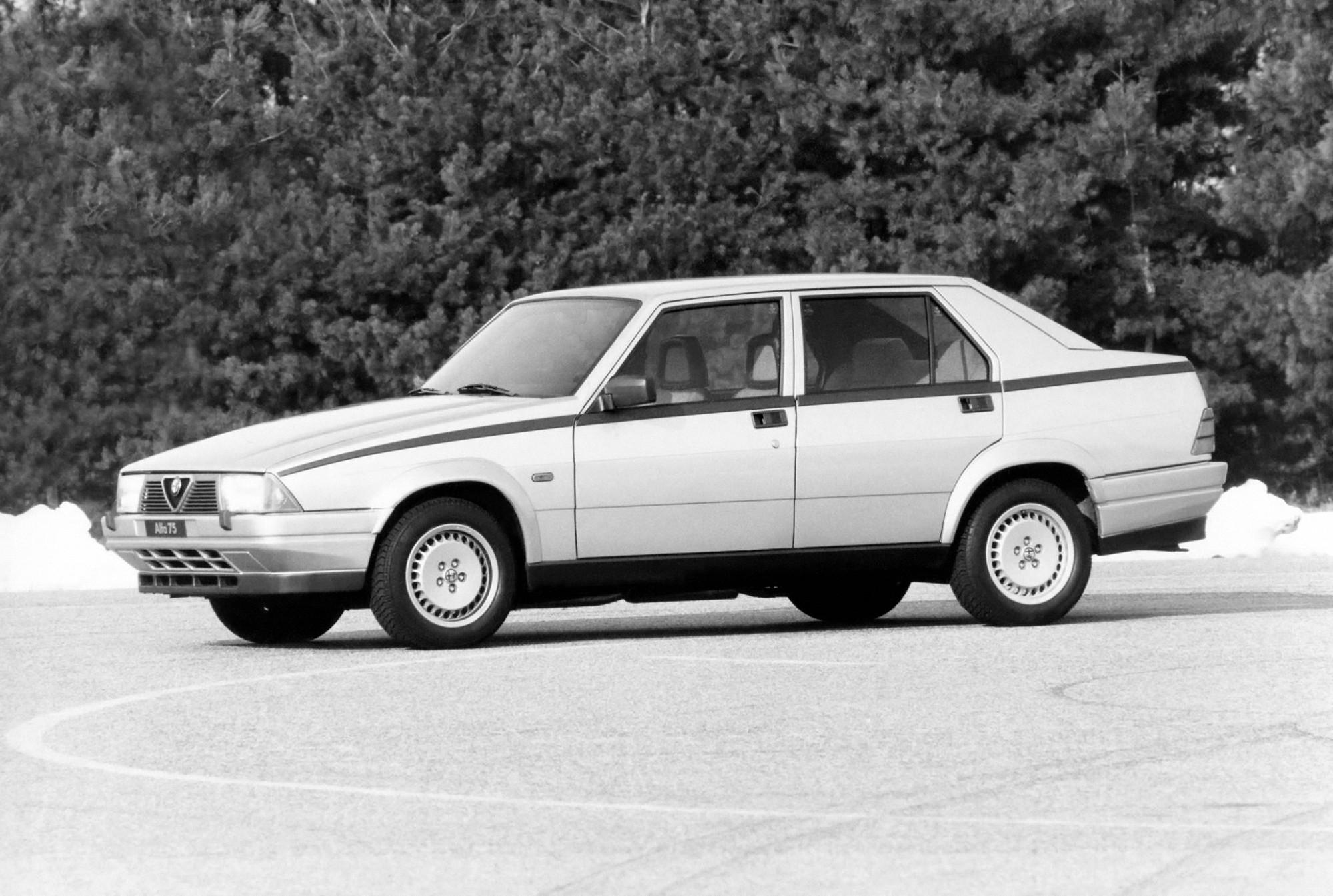 alfa romeo 75 specs \u0026 photos 1985, 1986, 1987, 1988, 1989, 1990Alfa Romeo 75 Twin Spark Wiring Diagram #8