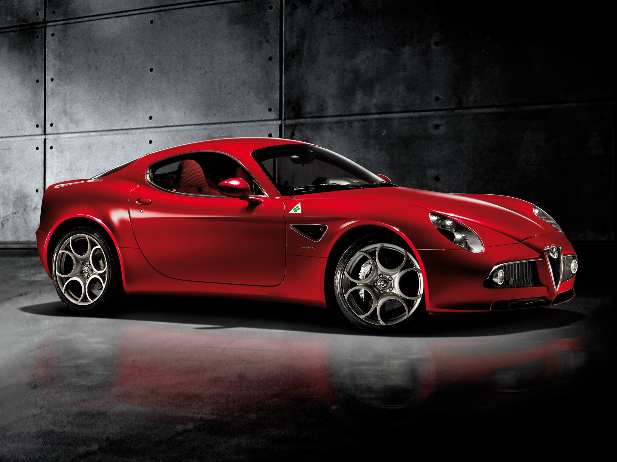 alfa romeo 8c competizione specs 2007 2008 2009. Black Bedroom Furniture Sets. Home Design Ideas