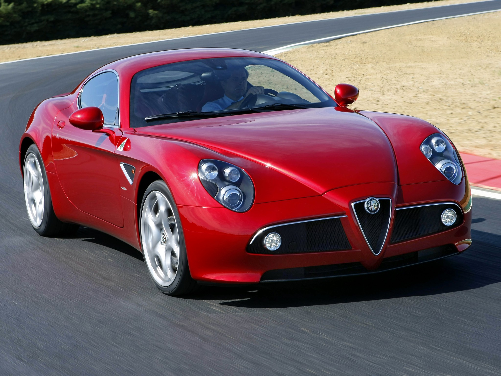 Alfa Romeo 8C Reviews  Car and Driver