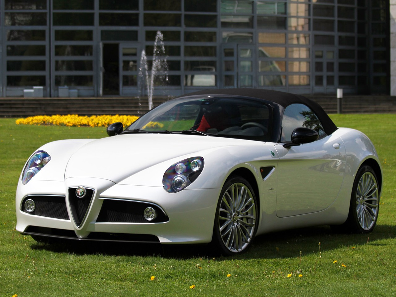 Alfa Romeo C Spider on Fiat V8 Engine
