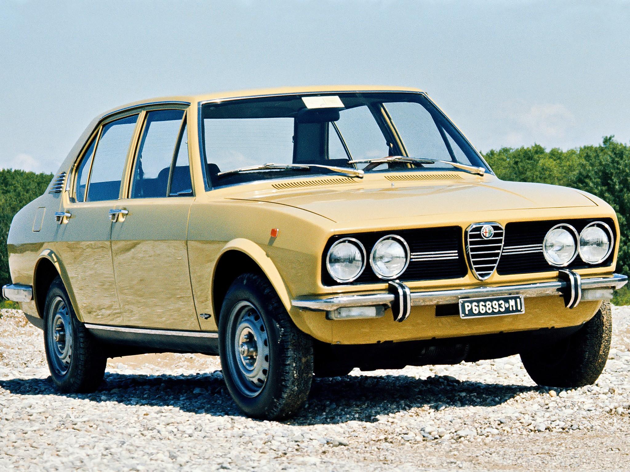 Alfa Romeo Alfetta 1972 1973 1974 1975 1976 1977