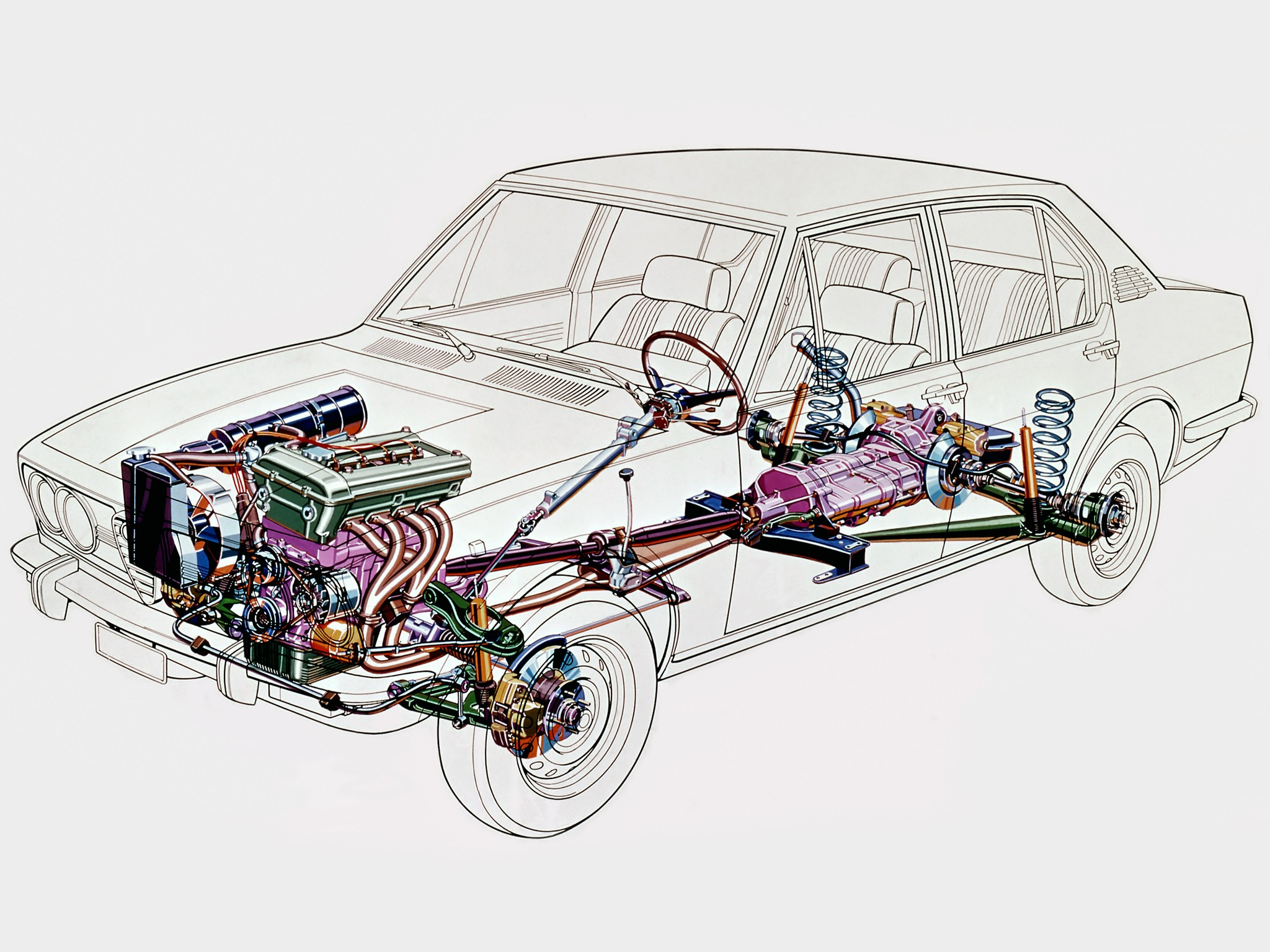 Alfa Romeo Brakes Diagram