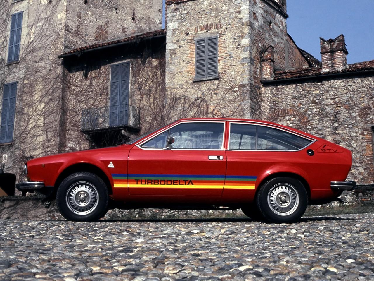 ... ALFA ROMEO Alfetta GTV (1976 - 1982) ...