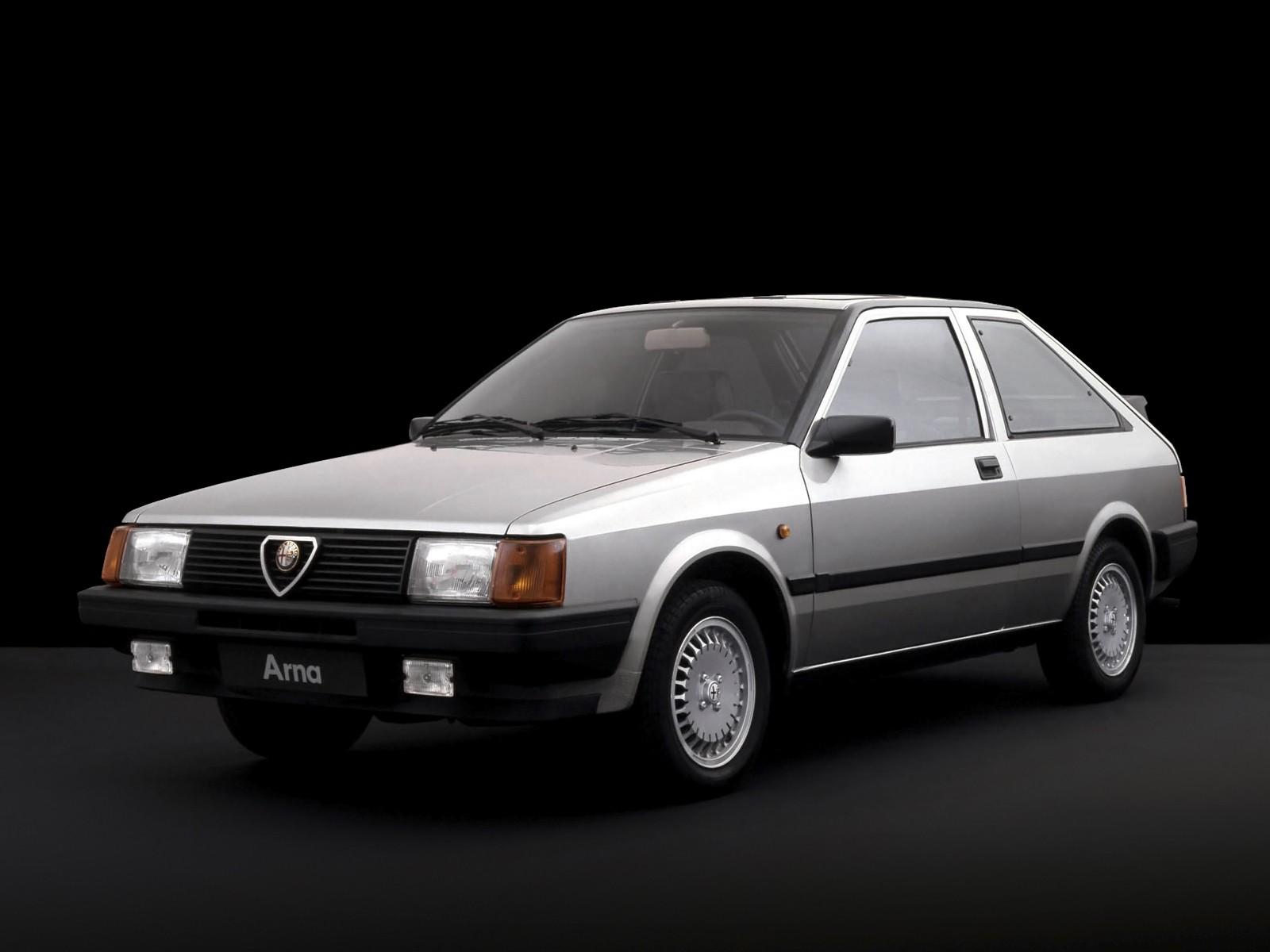 Naples Car Show >> ALFA ROMEO Arna specs & photos - 1983, 1984, 1985, 1986 ...