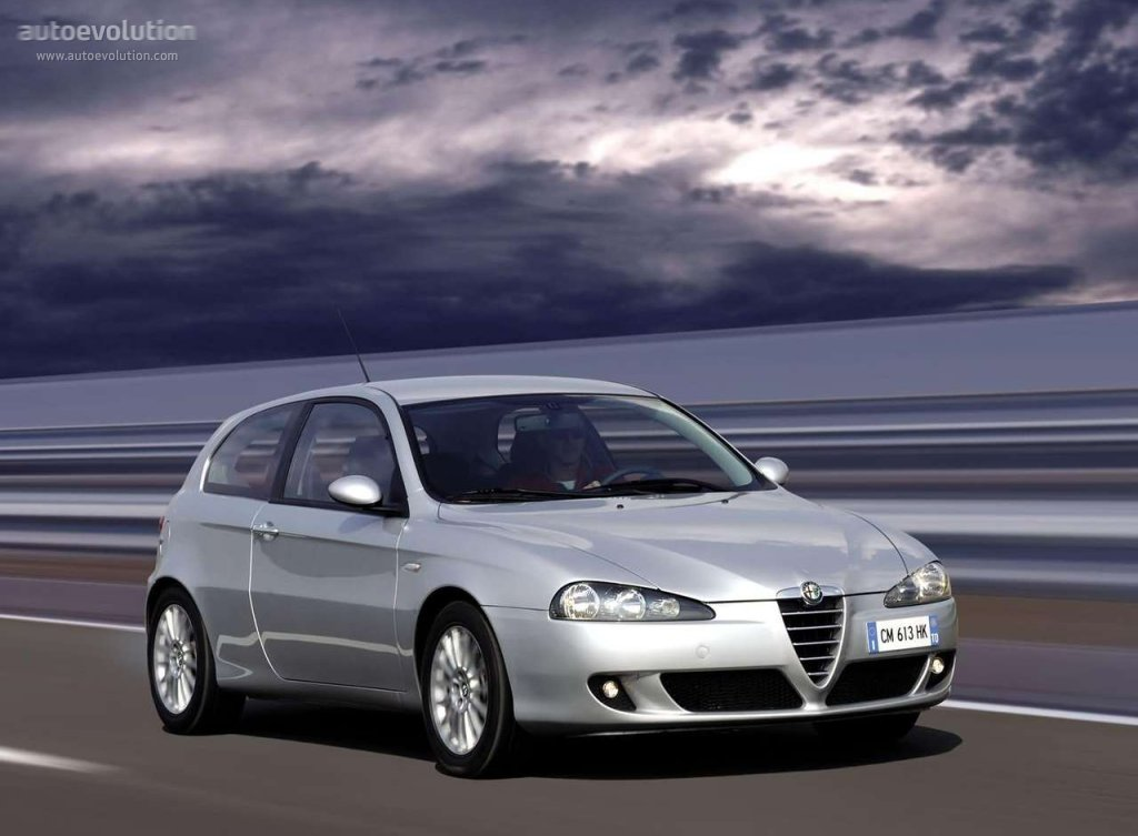 alfa romeo 147 3 doors 2005 2006 2007 2008 2009. Black Bedroom Furniture Sets. Home Design Ideas