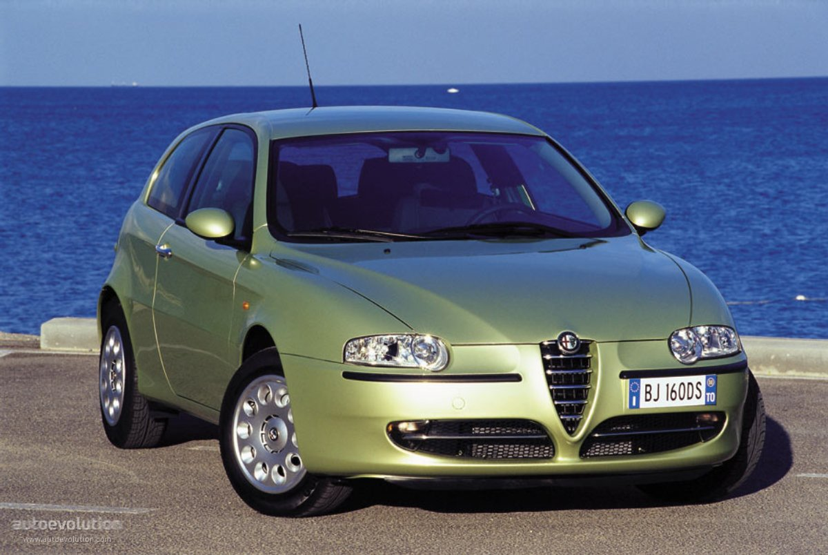 alfa romeo 147 3 doors specs 2000 2001 2002 2003 2004 2005 autoevolution. Black Bedroom Furniture Sets. Home Design Ideas