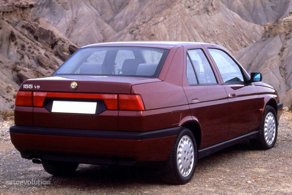 Alfa Romeo 155 1992 1993 1994 1995 1996 1997 1998