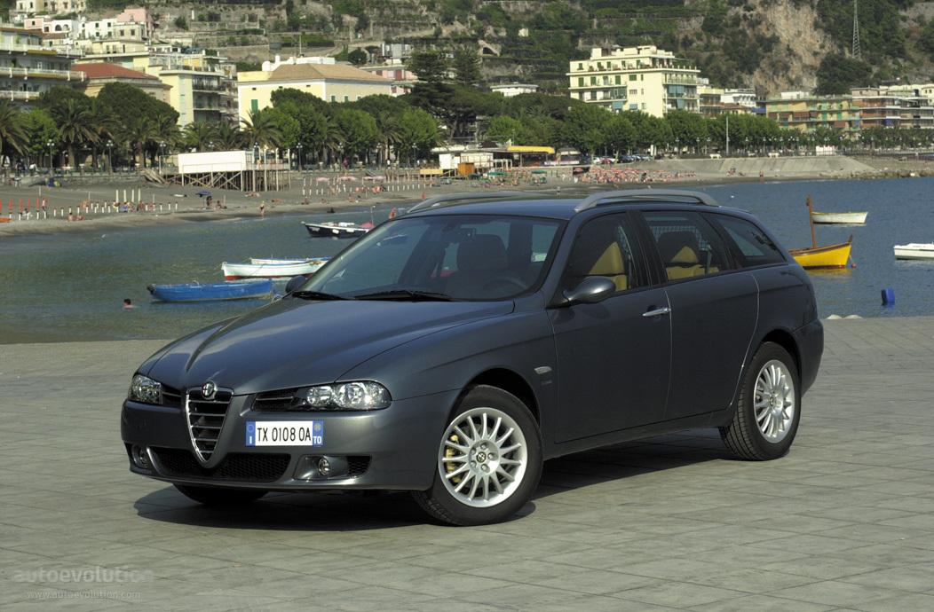 alfa romeo 156 sportwagon specs 2003 2004 2005 autoevolution. Black Bedroom Furniture Sets. Home Design Ideas