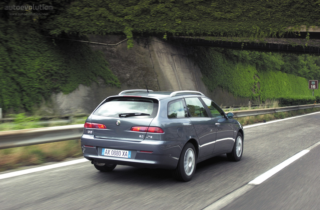 alfa romeo 156 sportwagon specs photos 2003 2004 2005 autoevolution. Black Bedroom Furniture Sets. Home Design Ideas