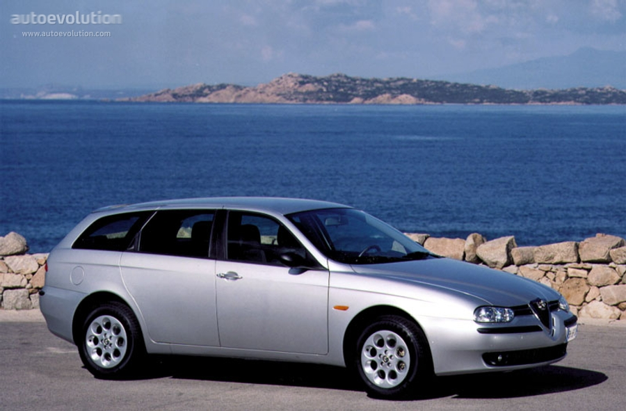 alfa romeo 156 sportwagon specs photos 2000 2001 2002 2003 autoevolution. Black Bedroom Furniture Sets. Home Design Ideas