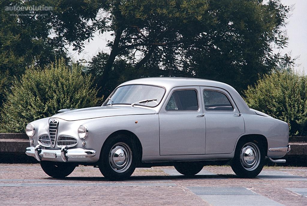 Alfa Romeo 1900 Berlina Specs Photos 1950 1951 1952 1953