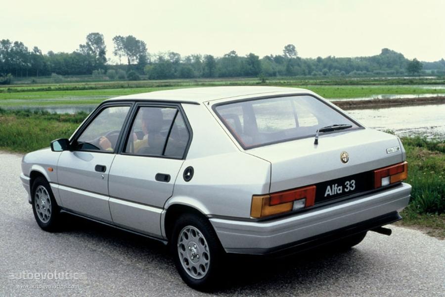 Alfa Romeo 33 Specs 1983 1984 1985 1986 1987 1988