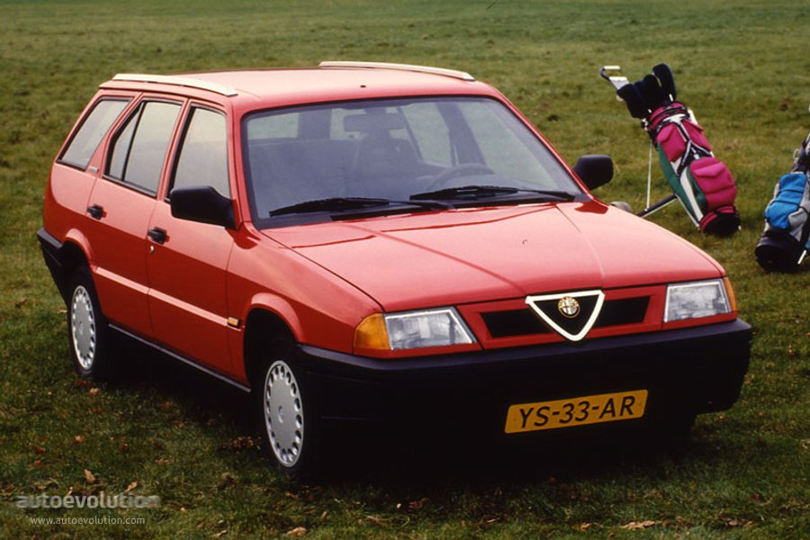 Alfaromeo Sportwagon on Alfa Romeo Spider 1988