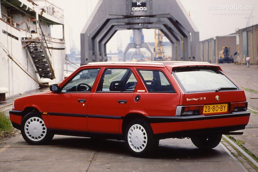 Alfa Romeo Giulia >> ALFA ROMEO 33 Sport Wagon specs & photos - 1988, 1989 ...