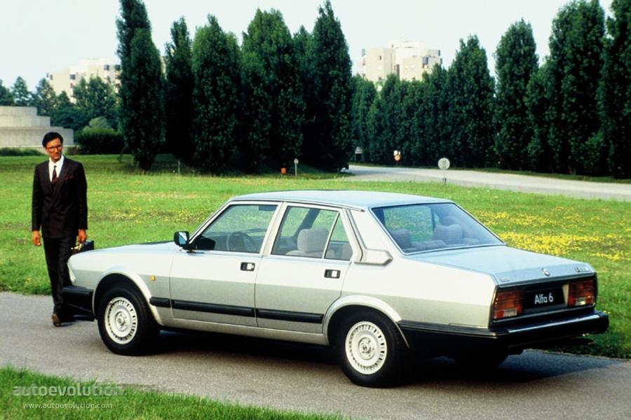 ALFA ROMEO 6 specs - 1983, 1984, 1985, 1986 - autoevolution