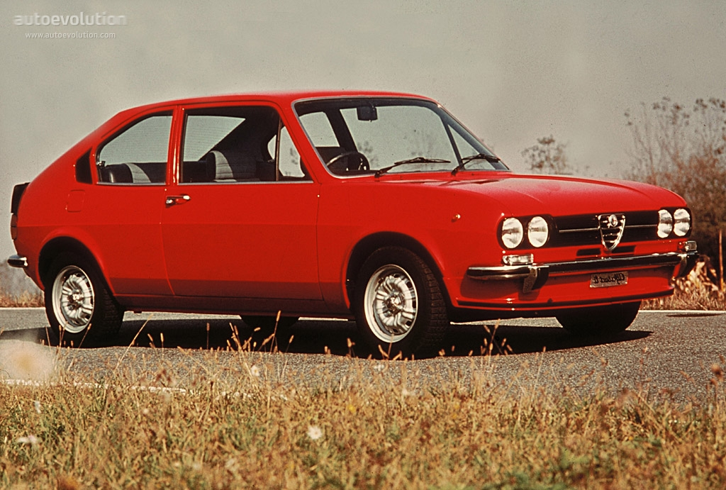 ALFA ROMEO Alfasud TI specs - 1973, 1974, 1975, 1976, 1977 ...