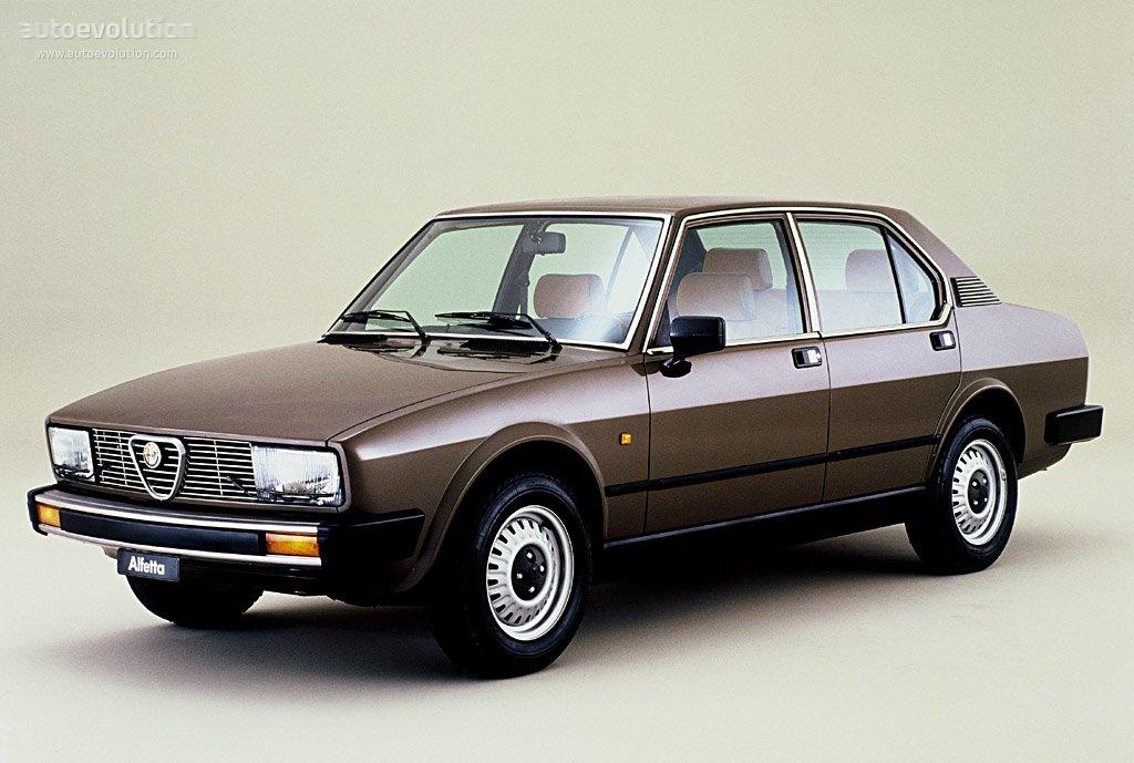 Alfa Romeo Alfetta Specs Photos 1979 1980 1981 1982 1983