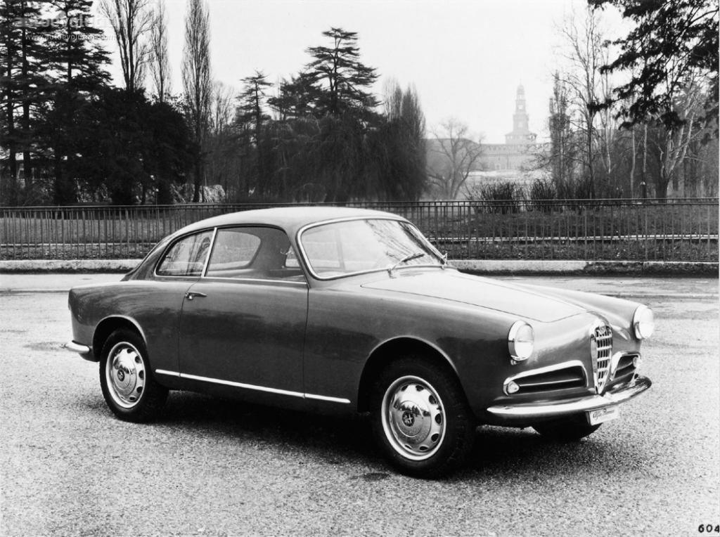 New Alfa Romeo Giulia >> ALFA ROMEO Giulietta Sprint specs & photos - 1954, 1955 ...