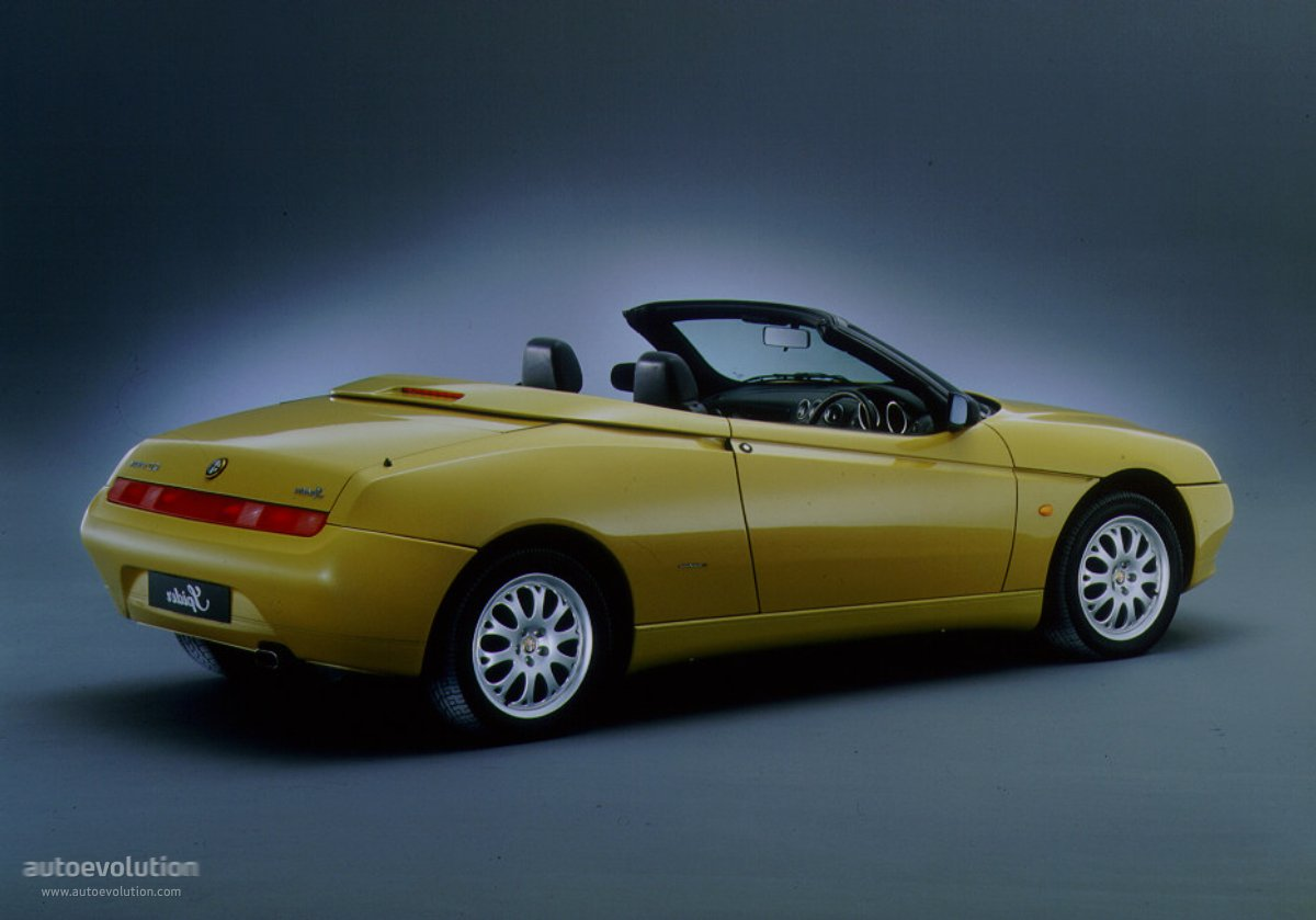Alfa Romeo Spider 1996 on 1 phase motor