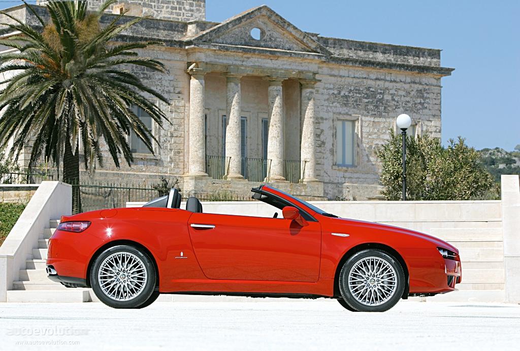 ALFA ROMEO Spider specs - 2006, 2007, 2008, 2009, 2010 ...