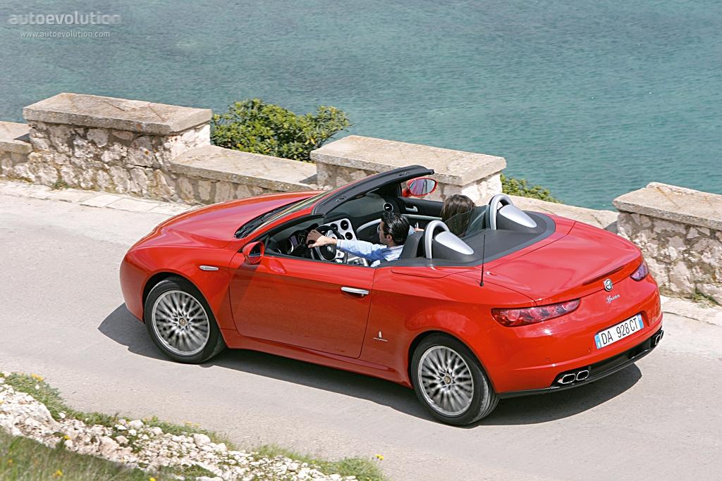 Alfa Romeo Spider 2006 2007 2008 2009 2010
