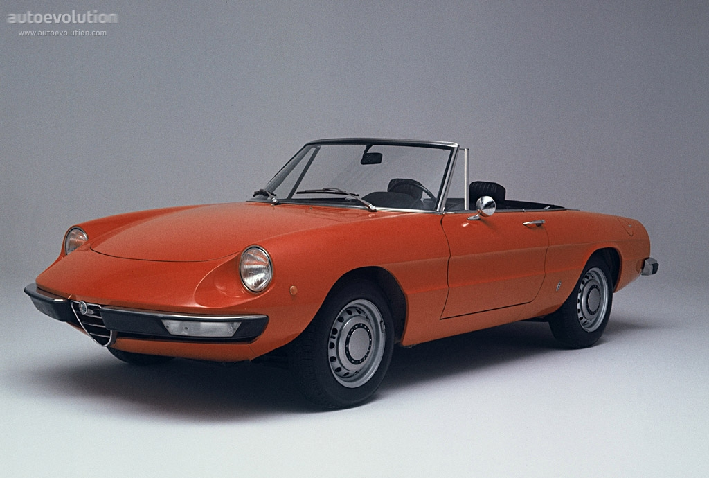 ALFA ROMEO Spider - 1970, 1971, 1972, 1973, 1974, 1975 ...