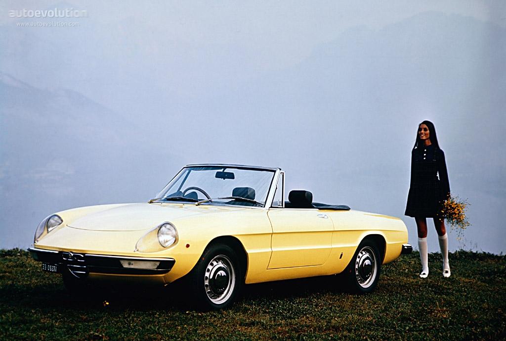 Alfa Romeo Spider Specs 1970 1971 1972 1973 1974