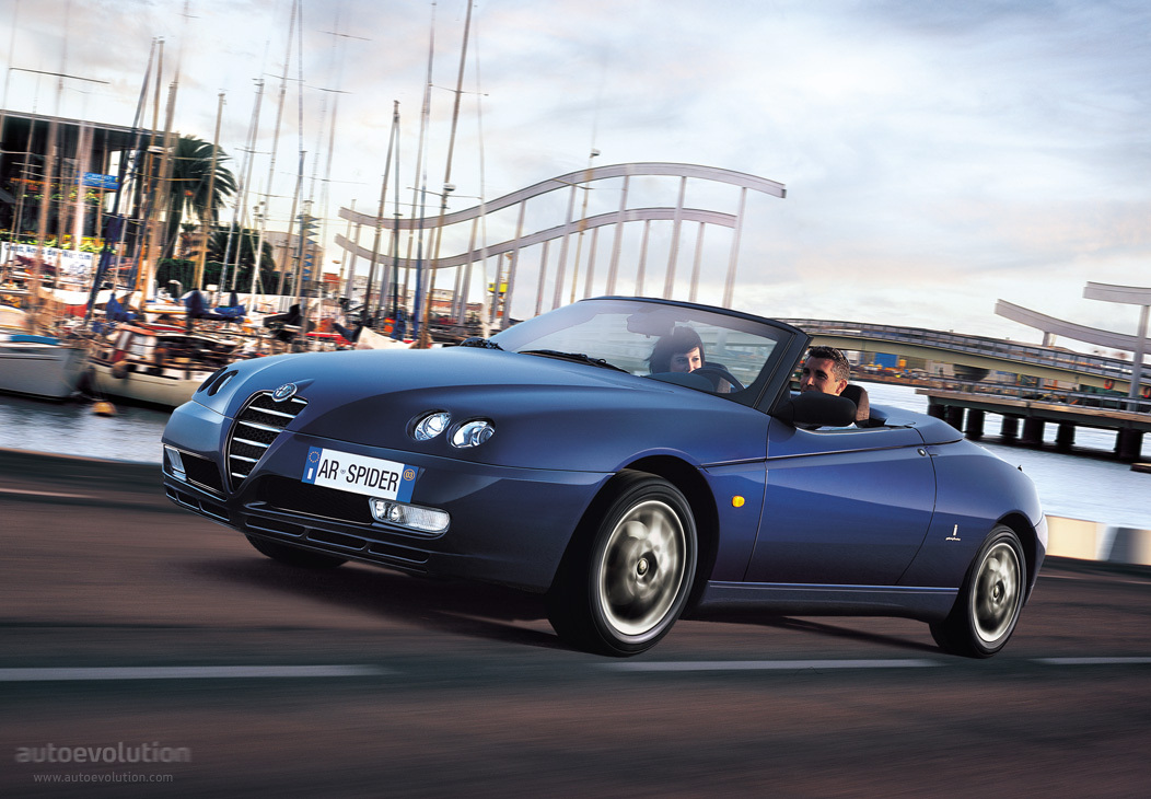 Alfa Romeo Spider 2003 2004 2005 2006 Autoevolution