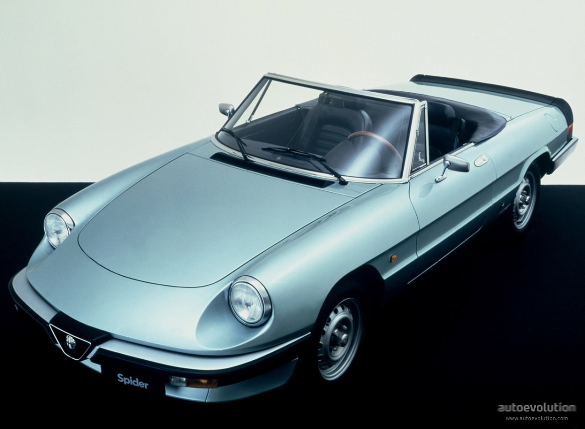Alfa Romeo Spider Specs 1983 1984 1985 1986 1987