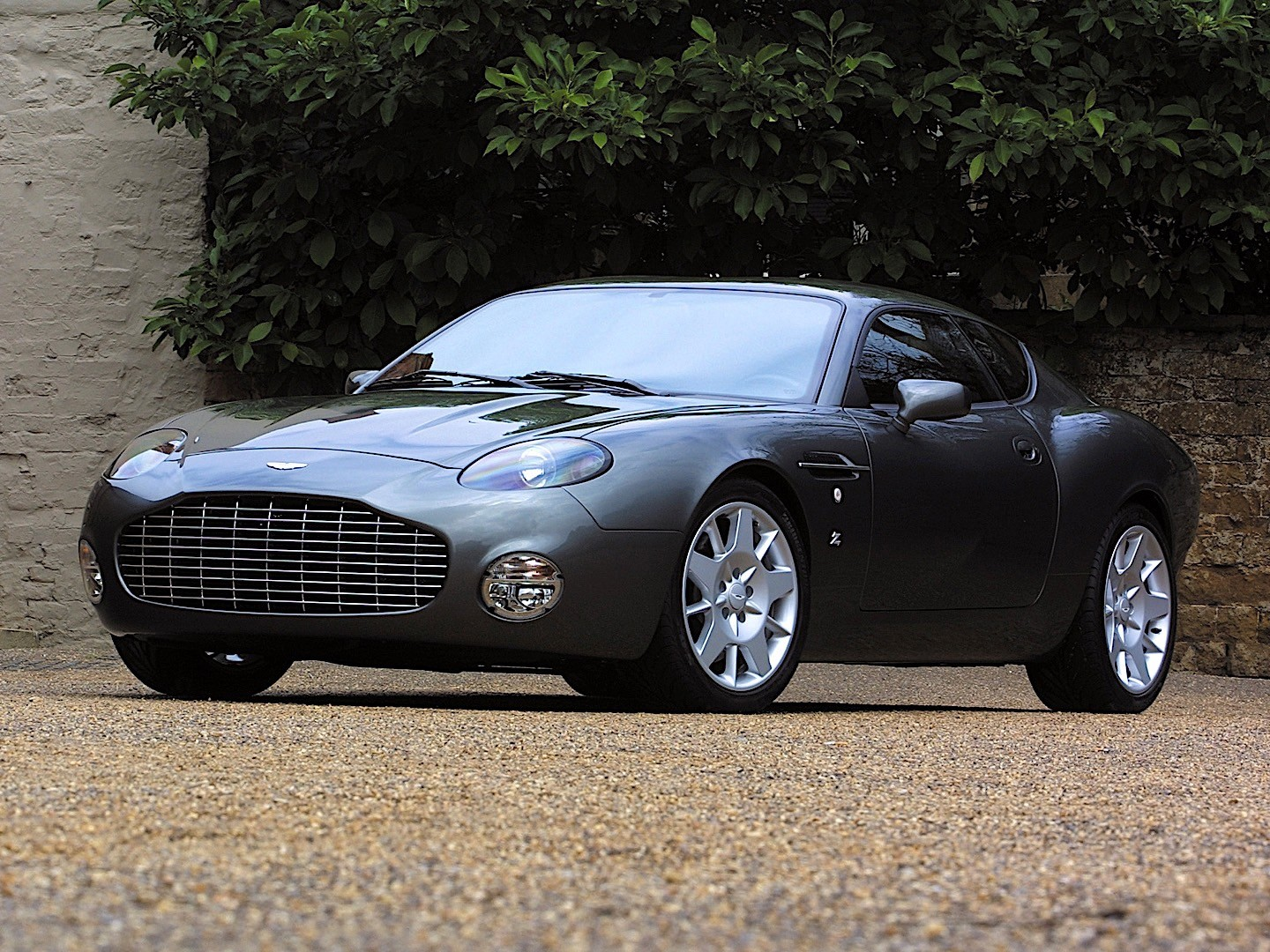 Shortened Cars >> ASTON MARTIN DB7 Zagato - 2003 - autoevolution