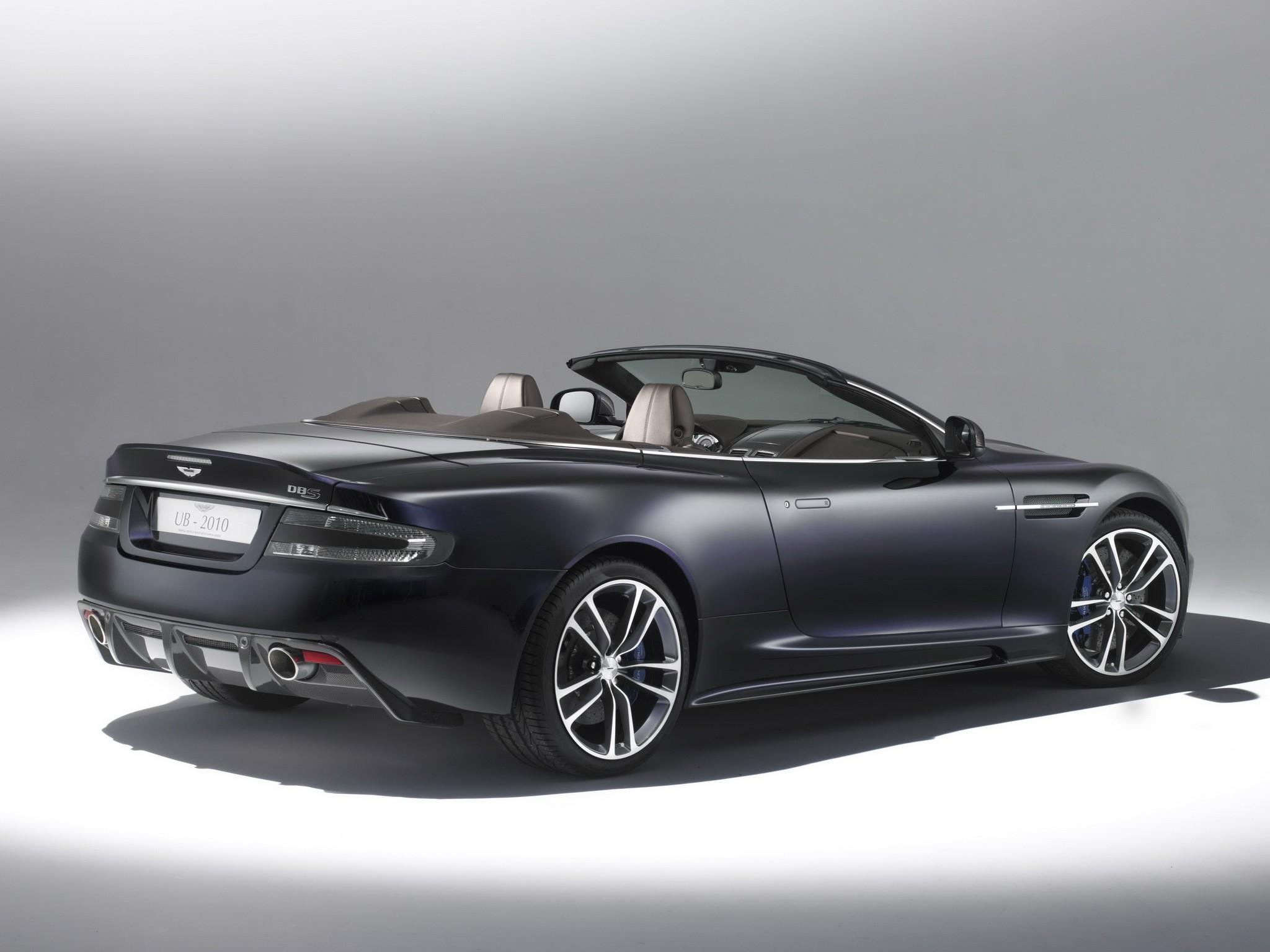 Aston Martin Dbs Volante 2009 2017